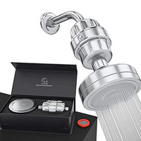AquaHomeGroup Luxury Filtered Shower Head Set