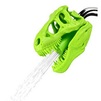 Barbuzzo T-Rex Shower Head, Green - Prehistoric Shower Nozzle