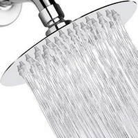 HIGH PRESSURE Shower Head 6 Inch Rain Showerhead