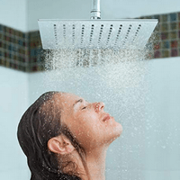 PurrfectZone Top Rated Luxury 12 inch Large Rain Shower Head