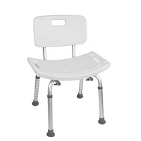 Vaunn Medical Bathtub Adjustable Shower Chair Seat