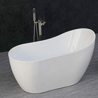WOODBRIDGE 54 Acrylic Freestanding Bathtub
