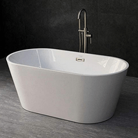 WOODBRIDGE 59 Acrylic Freestanding Bathtub