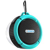 VICTSING BLUETOOTH WIRELESS SHOWER SPEAKER