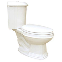 RENOVATOR'S SUPPLY ELONGATED CORNER TOILET