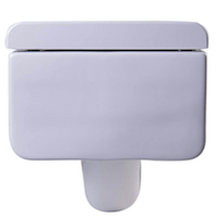Eago Wd333 Square Modern Wall Mounted Toilet