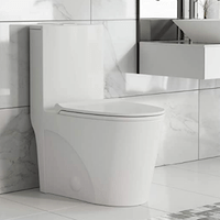 Swiss Madison Well Made Forever 1-piece Dual Flush Toilet