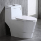 Woodbridge Dual Flush 1-piece Elongated Toilet