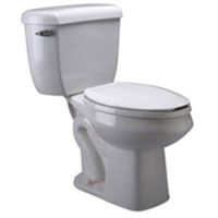 Zurn Z5570-BWL Toilet With Pressure Assist And Elongated Bowl