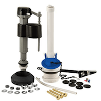 Plumbcraft White:Black Toilet Repair Kits