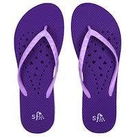 Showaflops Womens' Antimicrobial Shower And Water Sandals